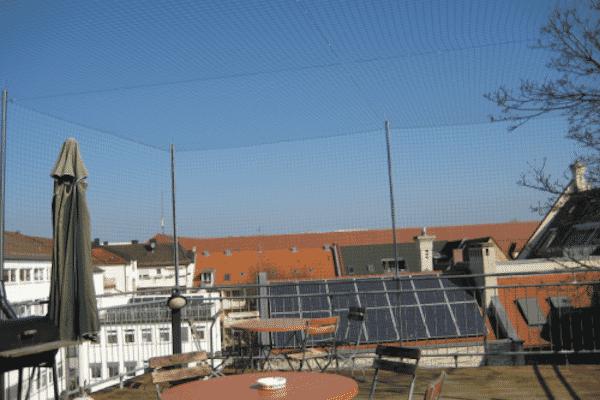 Taubenabwehr Netzsystem